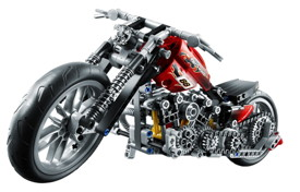 LEGO 8051 en mode chopper