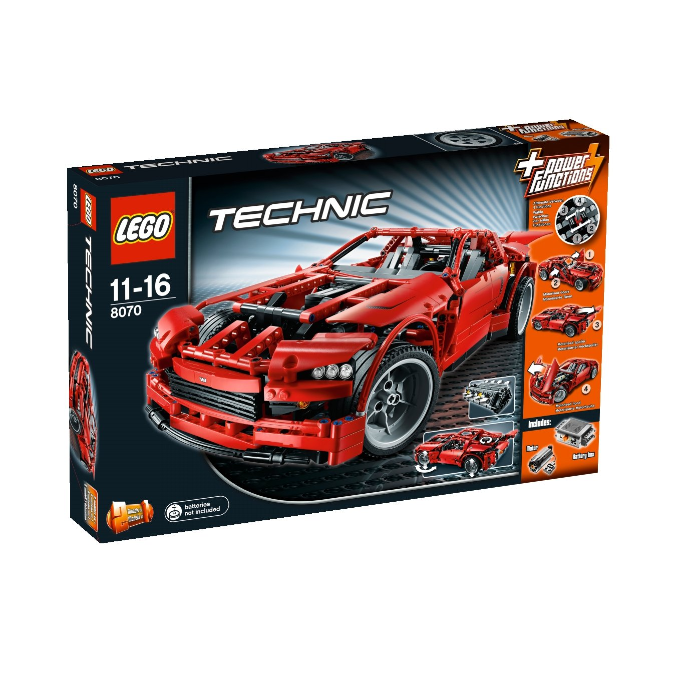 lego technic 8070 super car incontournable pour les fans. Black Bedroom Furniture Sets. Home Design Ideas