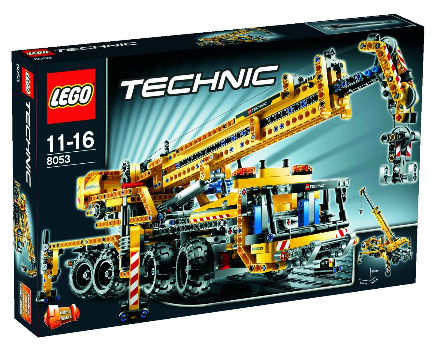 d tails du set lego technic 8053 la grue mobile lego. Black Bedroom Furniture Sets. Home Design Ideas