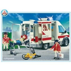 ambulance playmobil 4221