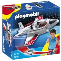 avion a reaction playmobil 4342