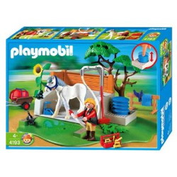 box lavage chevaux playmobil 4193