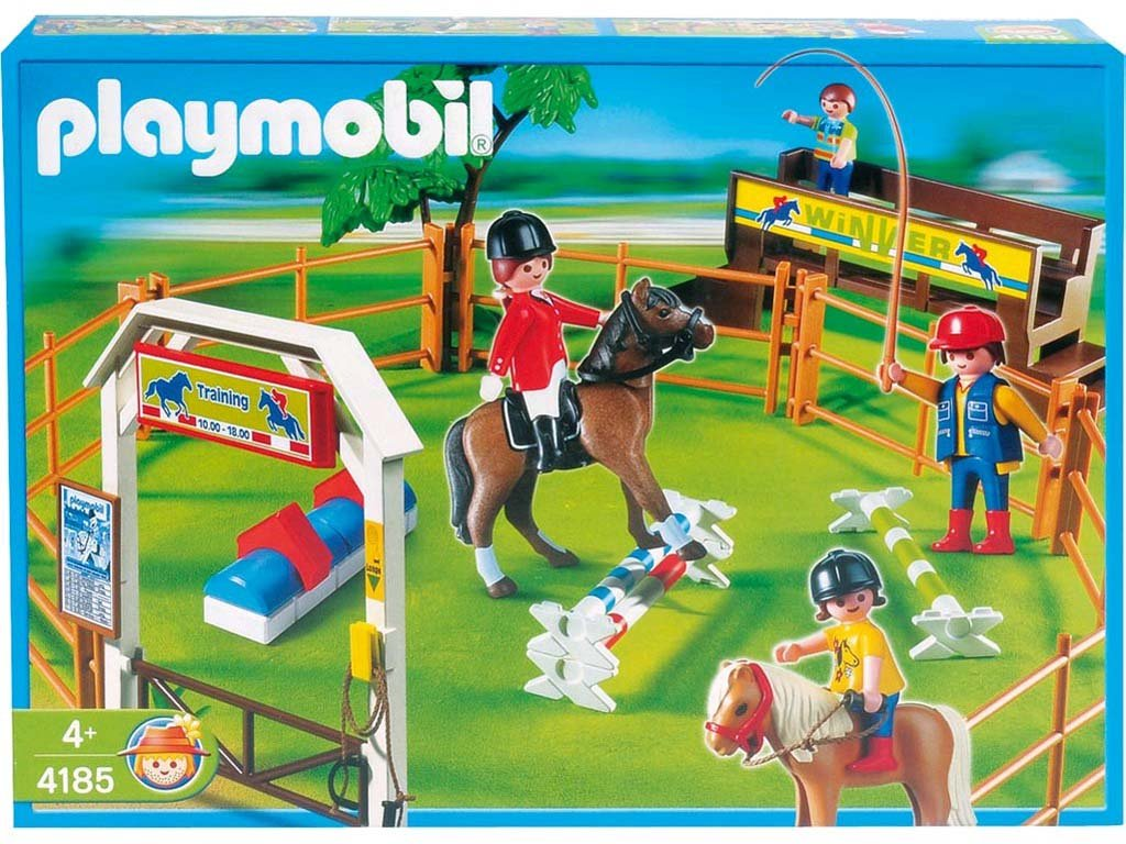 cavaliere carriere playmobil 4185