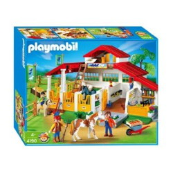 centre equestre playmobil 4190