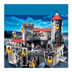chateau fort les chevaliers du lion playmobil 4865
