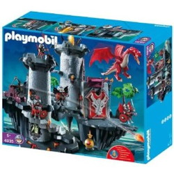 citadelle du dragon rouge playmobil 4835