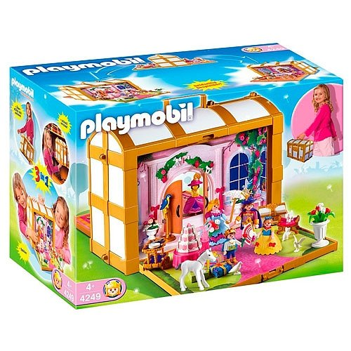 playmobil 4250 chateau princesse enfin un playmobil pour les filles. Black Bedroom Furniture Sets. Home Design Ideas