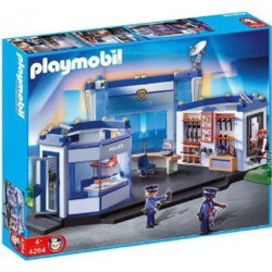 commissariat playmobil 4264
