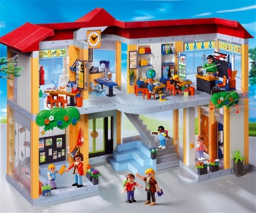 une ecole playmobil pour stimuler vos enfants. Black Bedroom Furniture Sets. Home Design Ideas