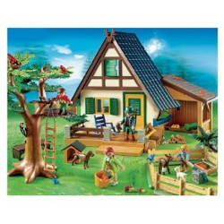 ferme forestiere playmobil 4207