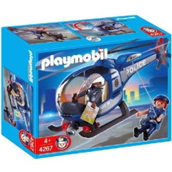helicoptere de police playmobil 4267