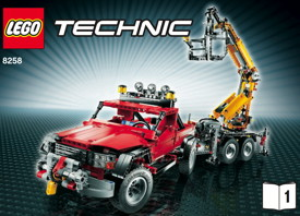 lego technic 8258 un camion grue qui a la classe. Black Bedroom Furniture Sets. Home Design Ideas