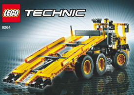 lego 8264 en mode camion de transport