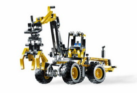 lego 8265 en mode machine forestiere