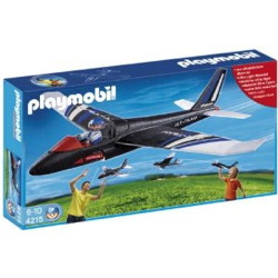 planeur jet team playmobil 4215